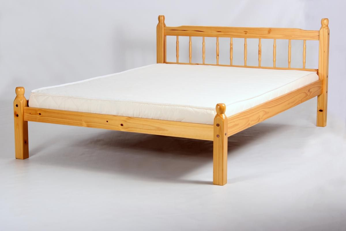 Cheap beds for cheap oak bed frames ideas about for Cheap king size divan